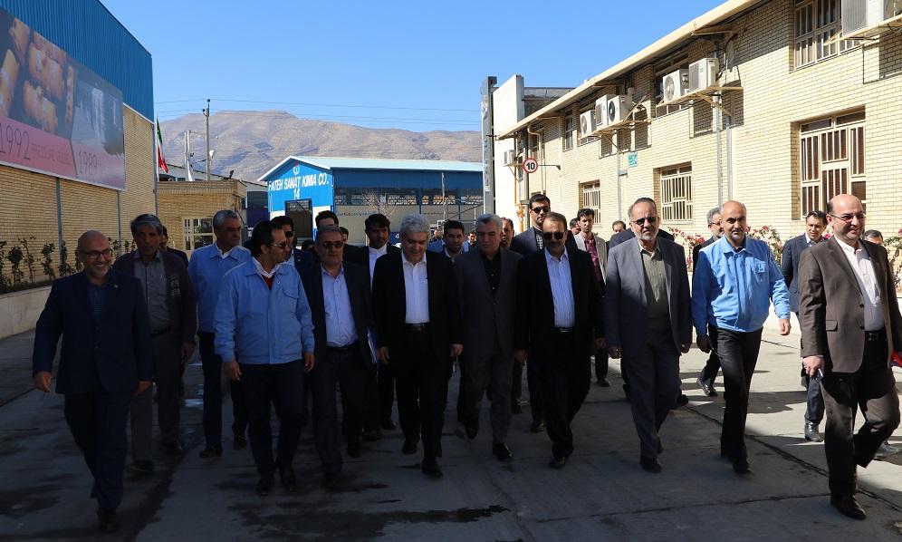ستاری در شهرک صنعتی بزرگ شیراز