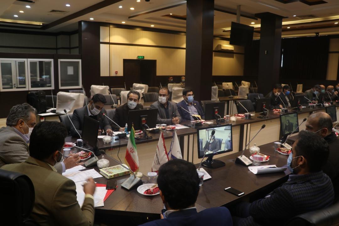 جلسه هیئت مدیره شرکت خدماتی جلسه با فرماندار شیراز